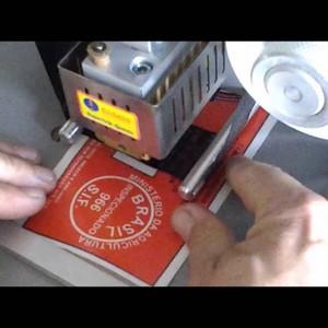 Datador automático hot stamping