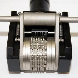 Roldanas de gravação detalhes técnicos